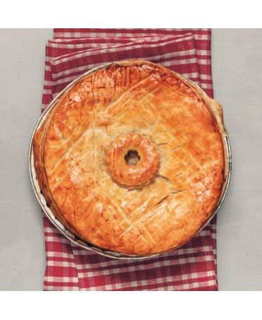 Duck pie for 2 persons