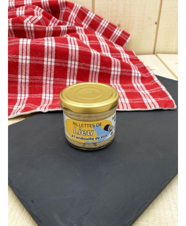 Rillettes of Pollock with Andouille de Vire - 90g