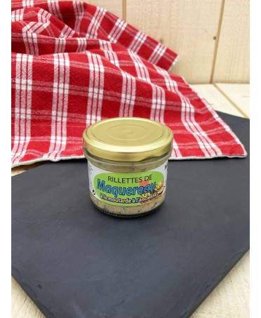 Potted Mackerel with Mustard - 90g