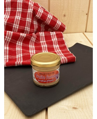 Smoked Trout Rillettes with Saffron - 90g