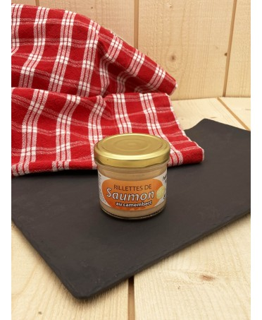 Rillettes of Salmon with Camembert - 90g